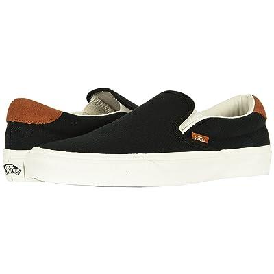 Vans Slip-On 59 ((Flannel) Black) Skate Shoes