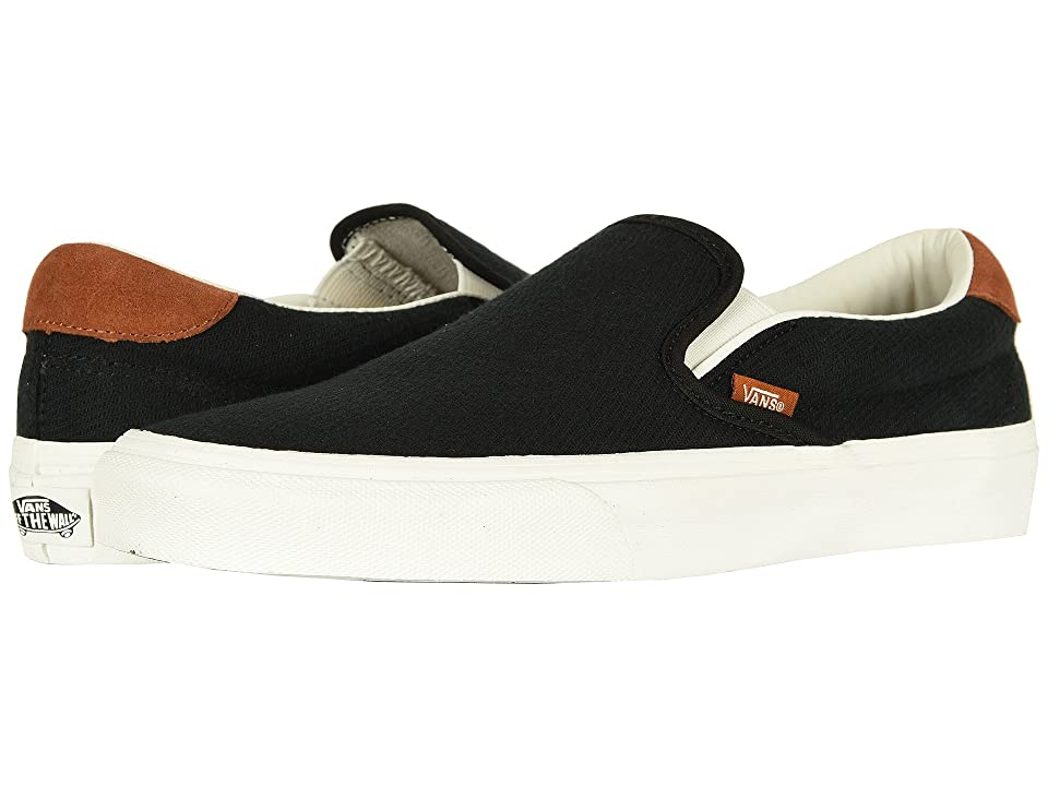 Vans Slip-On 59 ((Flannel) Black) Skate Shoes
