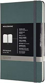 Moleskine - Professional Hard Cover Notebook - Large - Forest Green