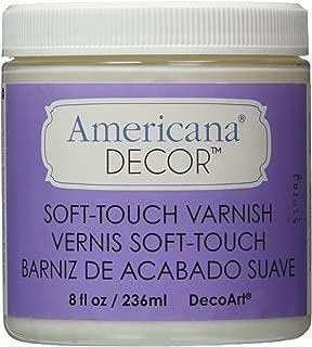DecoArt Soft Touch Varnish, 8-Ounce, Clear