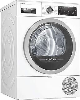 Bosch WTX87M40 Serie 8 Wärmepumpen-Trockner / A+++ / 176 kWh/Jahr / 8 kg / Weiß mit Glastür / AutoDry / AutoClean / SensitiveDrying System / Home Connect mit SmartDry