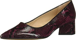Franco Sarto Women's GLOBAL2 Pump, Burgundy Leather, 6 M US