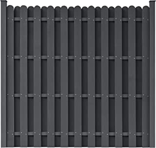 Fence Panel, WPC Fence Panel with 2 Posts 71