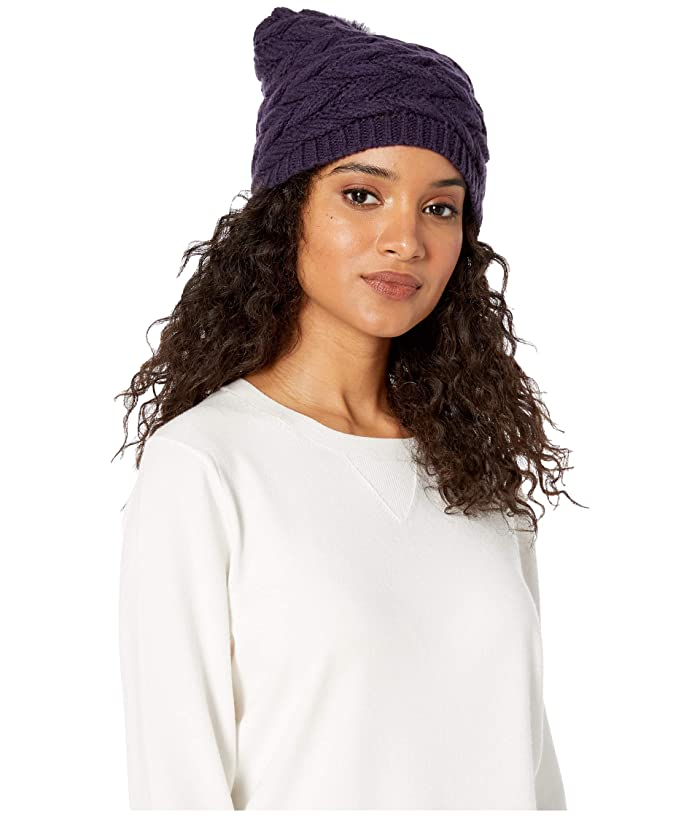 UGG  Cable Hat with Pom (Nightshade) Beanies