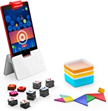 Osmo - Genius Kit for Fire Tablet - 5 Hands-On Learning Games - Ages 5-12 - Problem Solving & Creativity - STEM - (Osmo Fi...