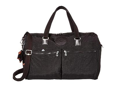 Kipling Itska Duffel Bag (True Black) Handbags