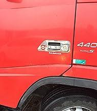 2 manillas de puerta izquierda y derecha de acero inoxidable para camiones FM FH hasta 2012