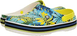 Crocband Tropical Graphic V Clog