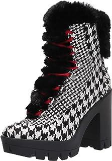 Jessica Simpson Women's Mikah Fashion Boot, أسود/أبيض, 6