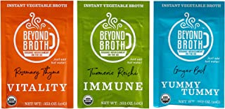Sponsored Ad - BEYOND BROTH Organic Vegan Vegetable Instant Sipping Broth | Keto, Gluten Free, Whole 30, and non GMO | (Va...