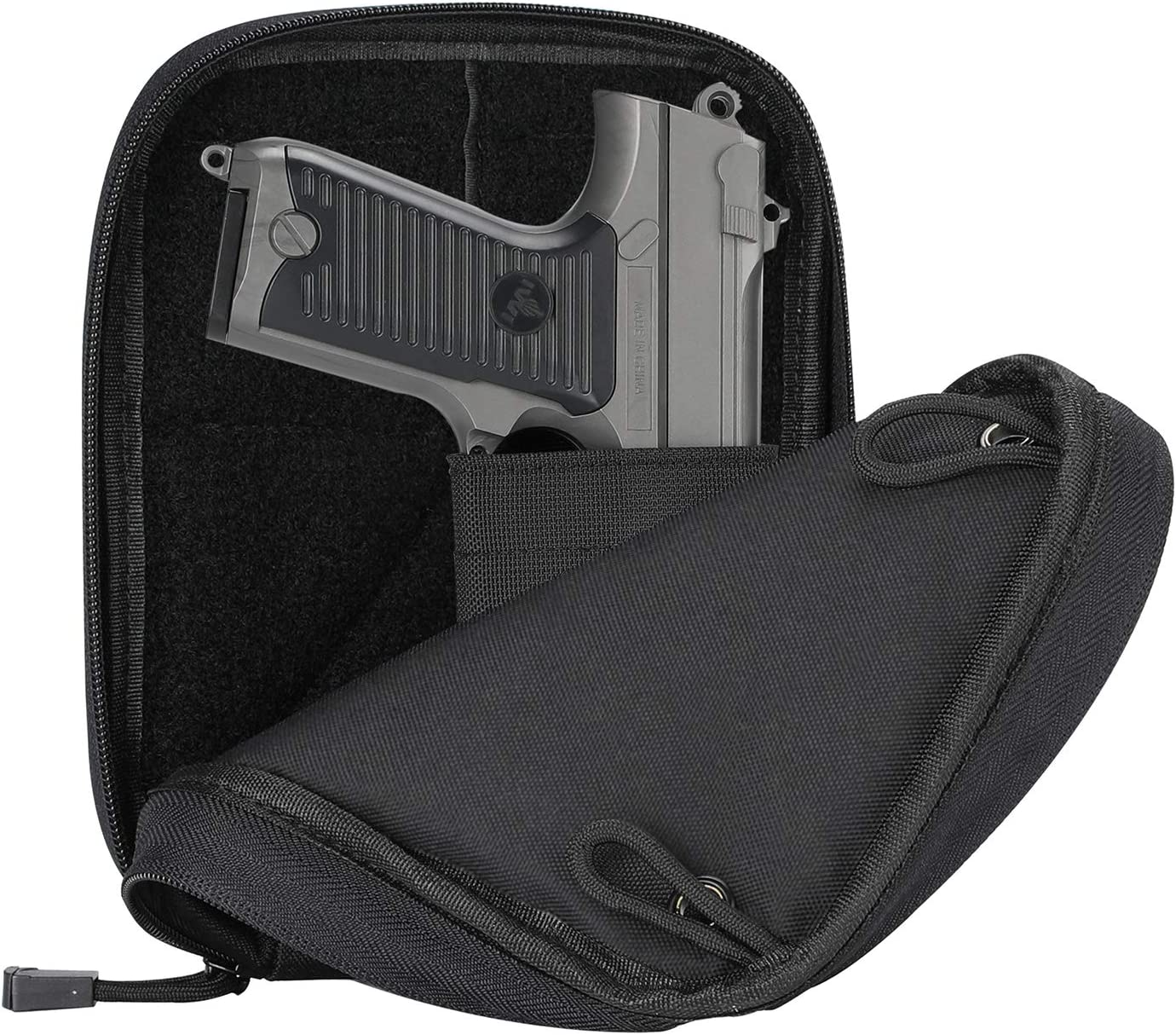ProCase Concealed Gun Pouch, Multipurpose Carry Pistol Holster Fanny Pack Waist Bag for Handgun with Belt Loops : Sports & Outdoors