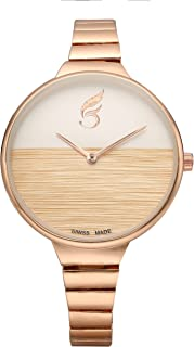Snapcrowd Present Style Feather Collection Multi Colour Dial Belt Watch for Women & Girls