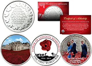 canadian poppy coin