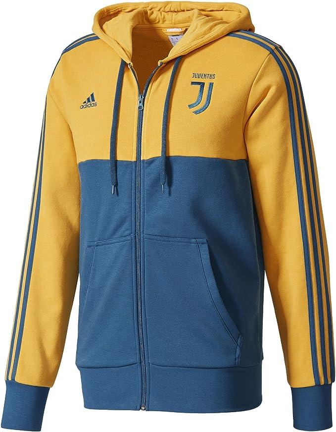 adidas Juventus 3s FZ HD, Felpa Uomo