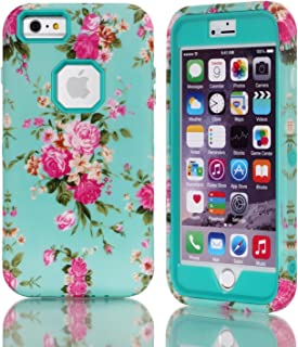 iPhone 6S Plus/iPhone 6 Plus Case, Hybrid Armor Cover Double Layer Protection Shock Proof Shell [Anti Slip] Premium Durable PC and Silicone Back Shell For Apple iPhone 6 Plus/6S Plus 5.5