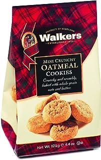 Walkers Shortbread 迷你脆燕麦饼干,4.4盎司/125克(6袋装)