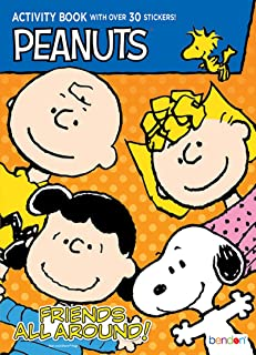 snoopy and friends coloring pages