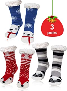 lined winter socks
