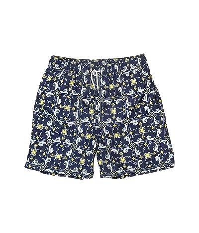 Janie and Jack Printed Swim Shorts (Toddler/Little Kids/Big Kids) (Multi 1) Boy