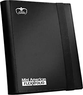 comprar comparacion Ultimate Guard Mini American 9-Pocket FlexXfolio Carpeta para Cartas Negro