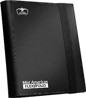 Ultimate Guard 9-Pocket FlexXfolio, Mini-American, Black