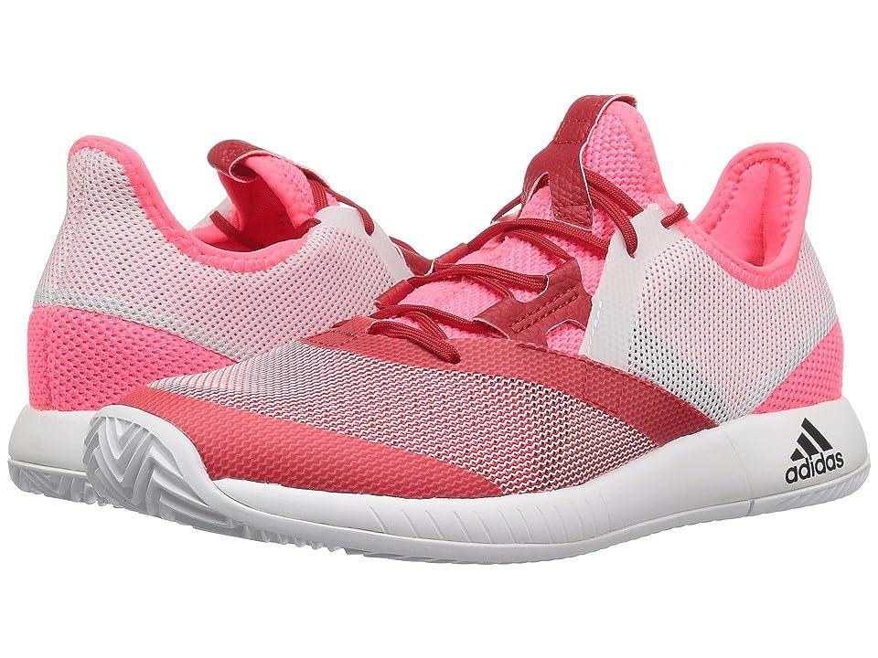 adidas adizero Defiant Bounce (Flash Red/White/Scarlet) Women