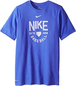 Nike Kids Dry Baseball Training Tee (Little Kids/Big Kids)