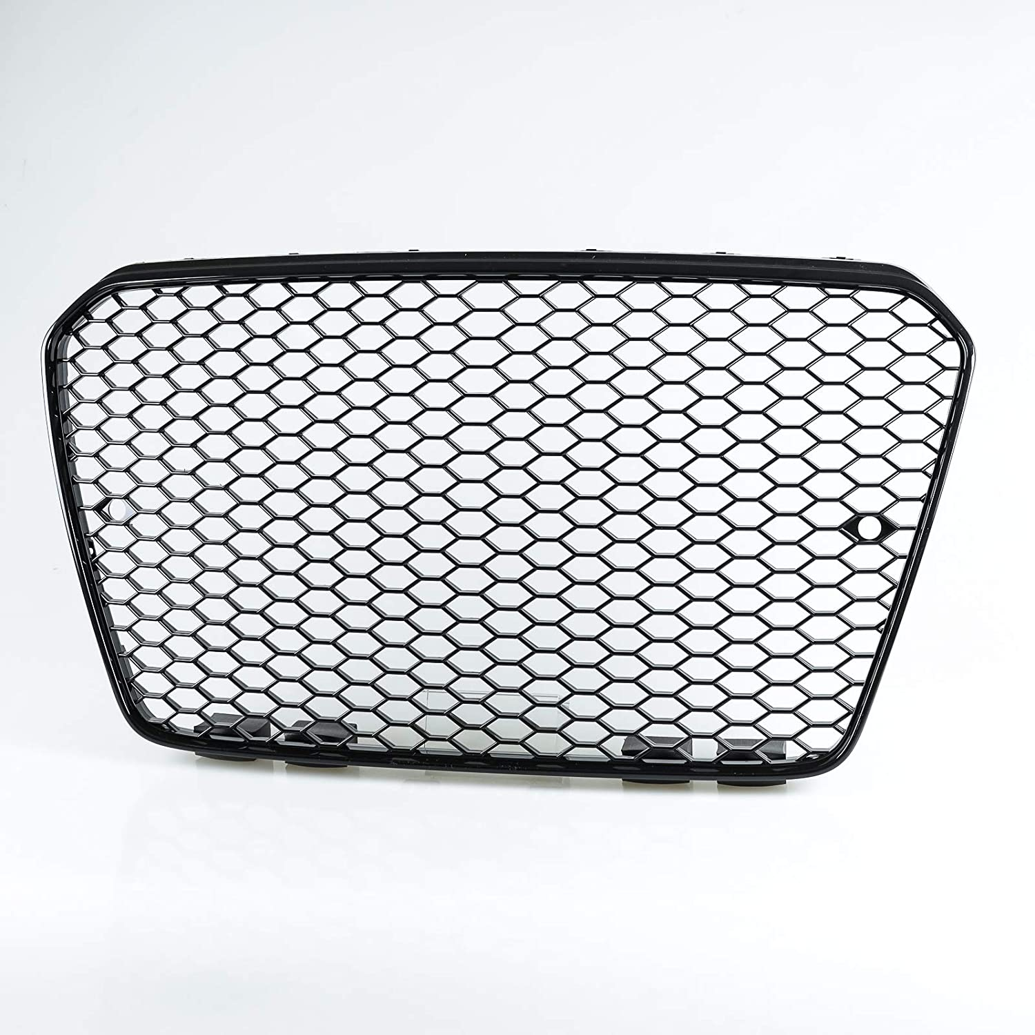 Ranking TOP16 Glossy Black RS5 Style Same day shipping Front Mesh A5 Audi Grille For S5 2013