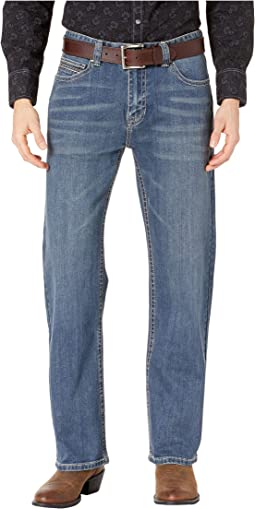Reflex Double Barrel Jeans in Medium Vintage M0S8656