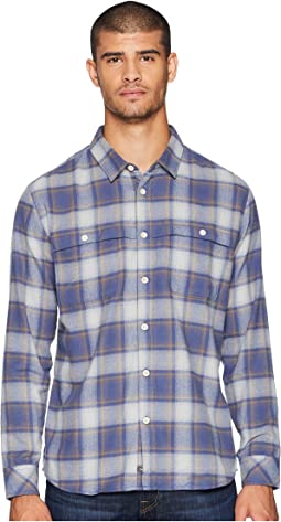 Cente Marche Long Sleeve Flannel Shirt