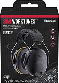 WorkTunes Connect Hearing Protector with Bluetooth Technology, Headphones