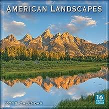 American Landscapes 2019 Wall Calendar