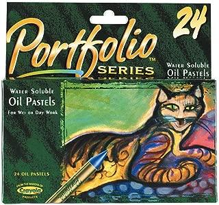 Crayola Portfolio Series Oil Pastels-24/Pkg