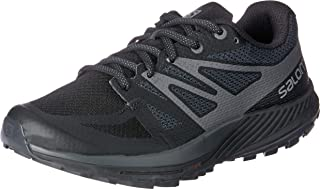 Salomon Women's Sense Escape W Trail Running Shoes, Black (Black/Magnet), 7.5 UK. 9 US