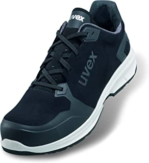 Uvex 1 Sport Zapato Profesional de Seguridad S3 SRC | Zapatilla Deportiva de Trabajo | Punta Antiaplastamiento de Composite | Negro