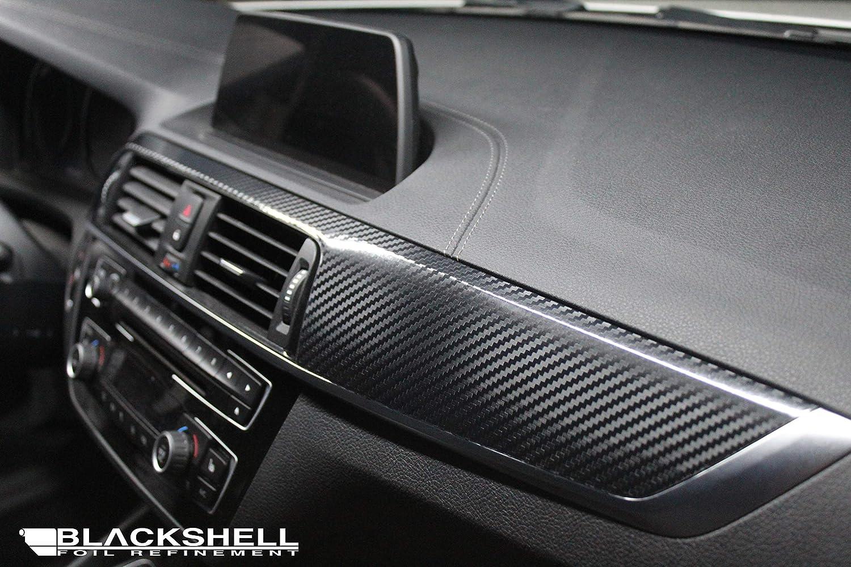 Opel Corsa C 3D CARBON SCHWARZ ZIERLEISTEN FOLIEN SET