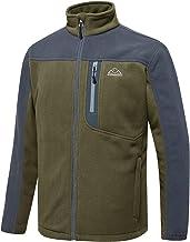 $33 » Sponsored Ad - TBMPOY Men's Full-Zip Fleece Jacket Soft Polar Winter Outdoor Coat with Pockets