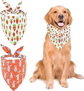 Custom Colors Personalized  Dog Bandana with Bone