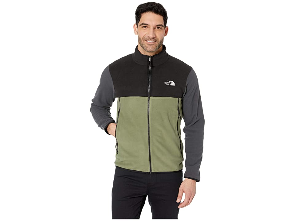 c0ba32cee0f6 The North Face Glacier Alpine Jacket (Four Leaf Clover TNF Black Asphalt  Grey) Men s Coat