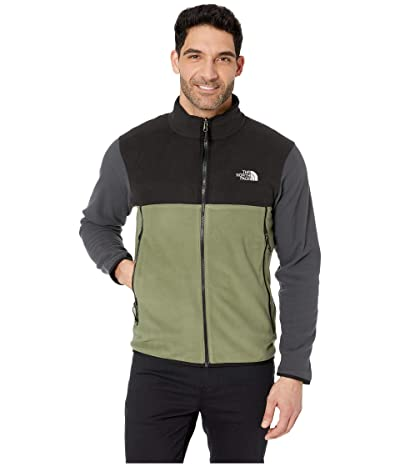 The North Face Glacier Alpine Jacket (Four Leaf Clover/TNF Black/Asphalt Grey) Men