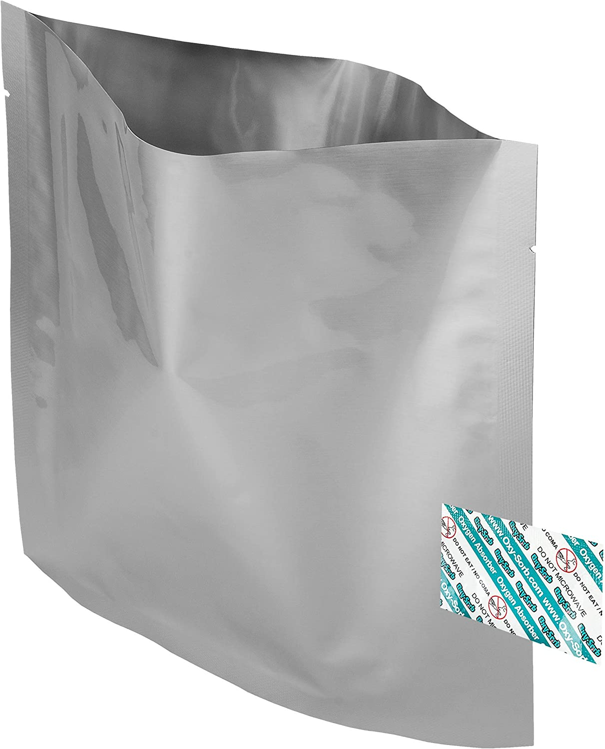 80 - 1 Quart Mylar Bags  Oxygen Absorbers for Dried Food  Long