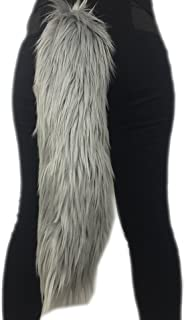 Choose for Orders Until Oct 24th to Receive Before Halloween 2019 ! Hurry up! Long Faux Fur Animal Luxury Tail