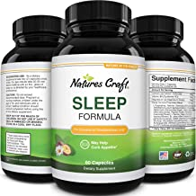 Best Natural Revitalizing Sleep Formula - End Fatigue - Supports Deep Uninterrupted Sleep - Non Addictive Supplement - Mag...