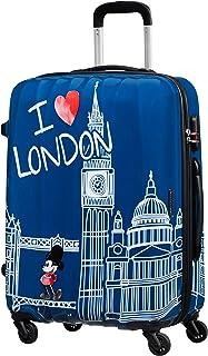 Disney Legends Spinner M Maleta Infantil, 65 cm, 62.5 L, Azul (Take Me Away Mickey London)