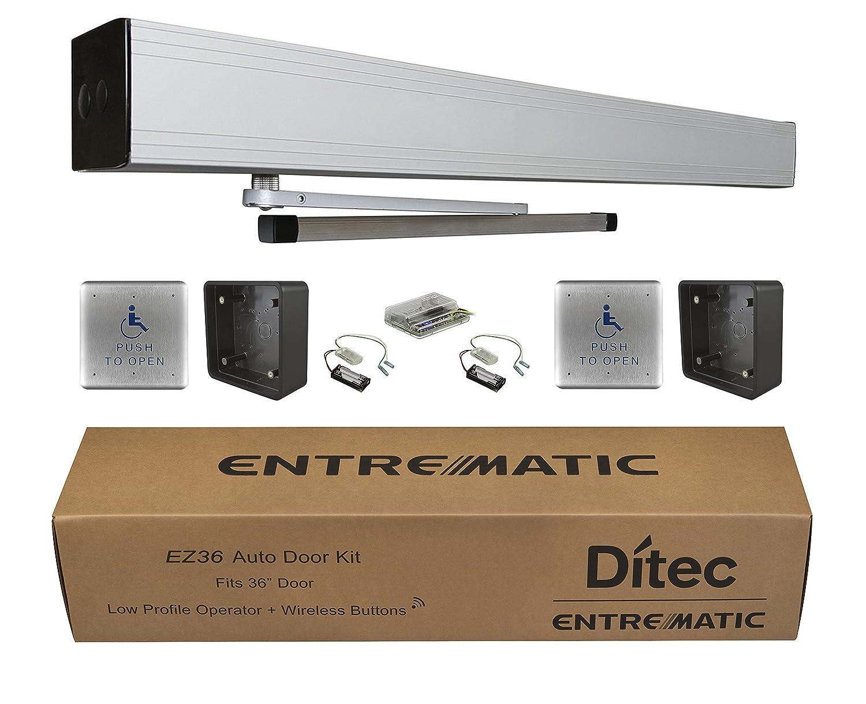 Ditec Don't miss the campaign W9-215 EZ36 1 year warranty Auto Door Low Kit Energy Metal Operator