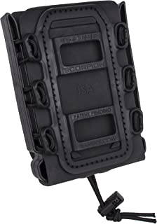 G-CODE Rifle Soft Shell Scorpion Mag Carrier (Black) with Paddle Attachment 100% Made in USA