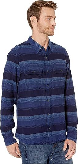 Medium Indigo Horizontal Stripe