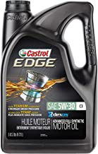 Castrol 03559 EDGE 5W-30 C3 Advanced Full Synthetic Motor Oil, 5 quart, 3 Pack