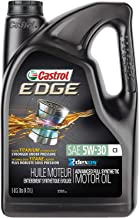 Castrol 03559 EDGE 5W-30 C3 Advanced Full Synthetic Motor Oil, 5 quart