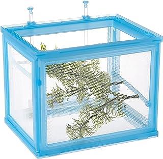 Fish Net Isolation Box Aquatics, Fishing Net Breeder Aquarium Fish Tank Fry Breeding Hatchery Partition Case Kit Drop Ship